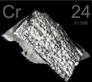 cromo elemento químico