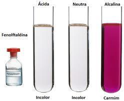 fenolftaleína ácidos bases