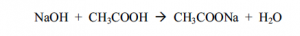 reacción de neutralización ácidos y bases