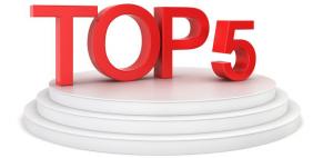 top-5 conteo