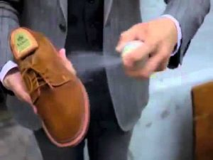 Spray impermeabilizante de calzado
