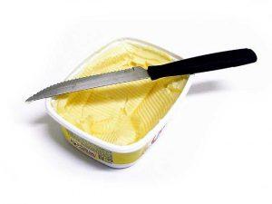 margarina Grasas trans o grasas hidrogenadas